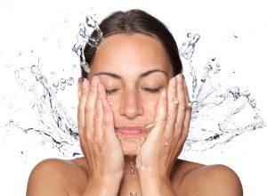 Higiene do rosto