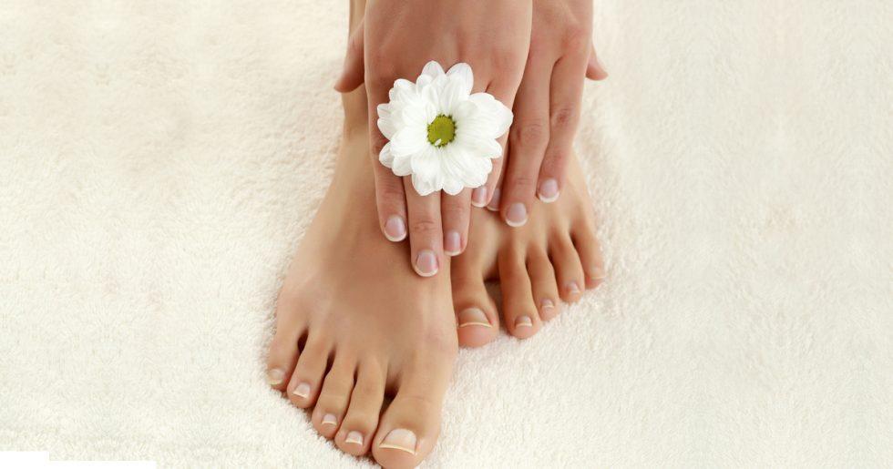 Mãos e pés