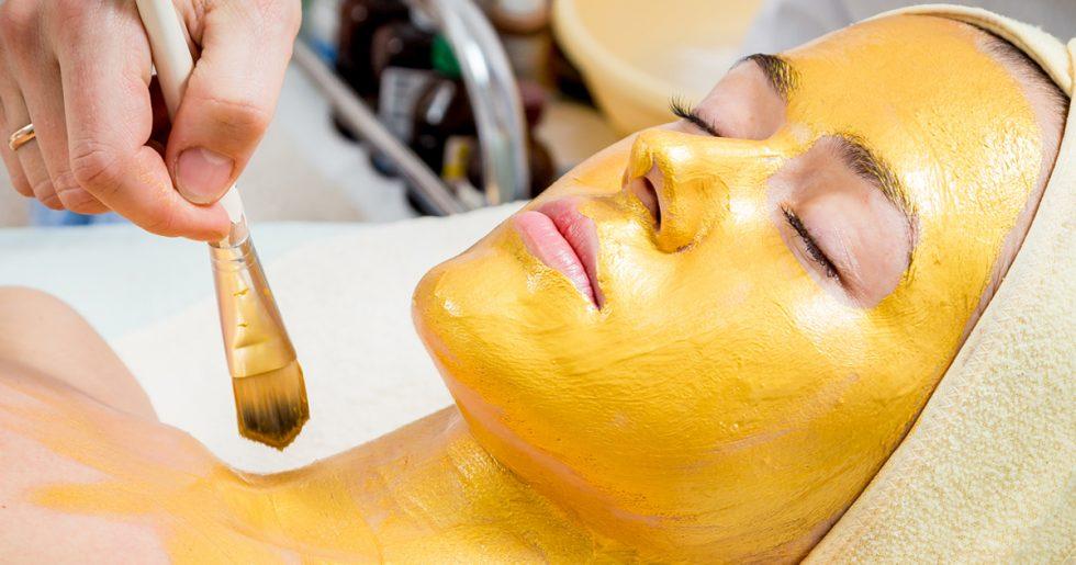 Máscara de ouro